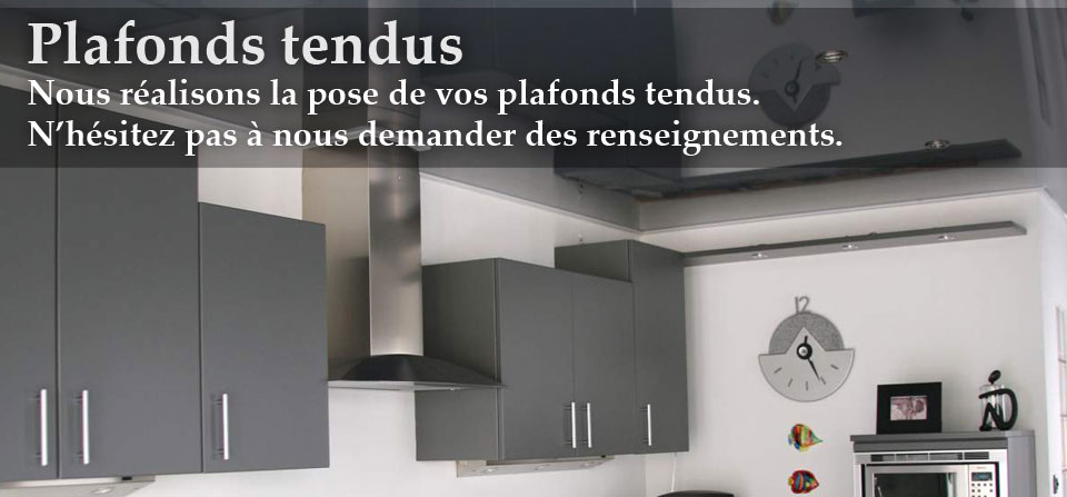 Plafonds tendus